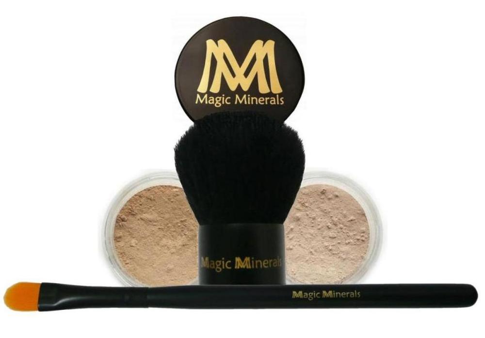 Medium Bisque Magic Minerals 4 vnt. rinkinys